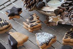 zdravé- vánoční cukroví s vanilkou a pudingem Christmas Sweets, Stuffed Mushrooms, Cookies, Vegetables, Desserts, Stuff Mushrooms, Crack Crackers, Tailgate Desserts, Deserts