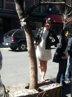 Tree Pit Bench in front of Mission Chinese - 154 Orchard St, New York, NY - Photo: Jesse Guitirrez