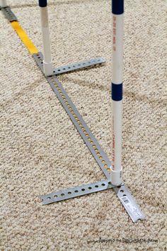 DIY 2x2 Dog Agility Weave Poles // Ammo the Dachshund