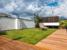 Dachterrasse mit Cumaru-Terrassendielen von Holzhandel-Deutschland