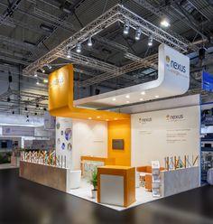 Nexus Energy GmbH Referenzbeispiel zur E-World, Essen 40m²