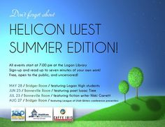 Helicon West Summer Edition 2015 at the Logan Library.