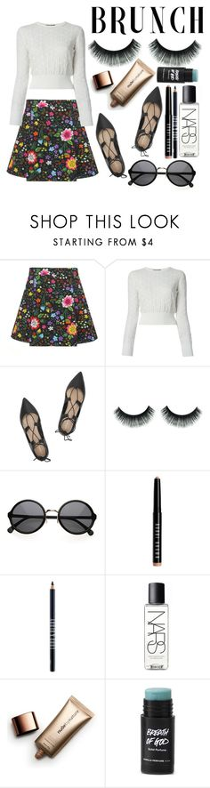 """""""for mommy"""" by cashtonlv on Polyvore featuring Victoria, Victoria Beckham, Alexander McQueen, Loeffler Randall, Bobbi Brown Cosmetics, Lord & Berry, NARS Cosmetics and Nude by Nature"""