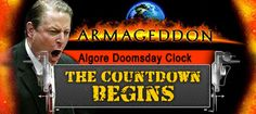 Al Gore Countdown Clock is ticking.  In 2006, Al Gore says we've got ten years. Ten years left to save the planet from a scorching. Okay, we're going to start counting. This is January 27th, 2006. We will begin the count, ladies and gentlemen. ...ok folks, only 22 days left. More LIBERAL brain disease.