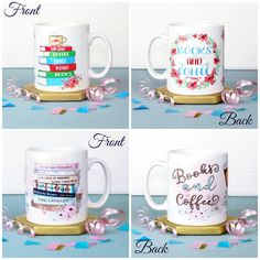 With Love for Books: Books and Coffee Mugs Giveaway