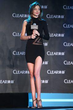 Clear Mini Dress