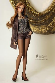 Wow, those thighs look healthier than a typical Barbie doll.