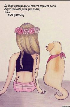 Girl With A Dog Drawings Of Friends Best Friend Drawings Cute Cute Beautiful Drawings Of Dogs Dog Portrait Turn Your Best Friend Drawings, Bff Drawings, Kawaii Drawings, Marinette E Adrien, Dancing Drawings, Girly M, Cute Girl Drawing, Blue Dream, Best Friends Forever