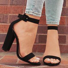 Buckle Black Suede Pinterest HeelZapatos Zapatos LUqzMpSVG