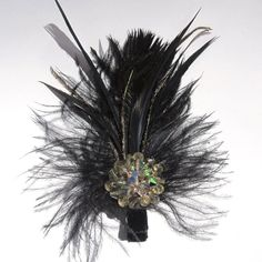 I am a big fan of hair accessories, I've been wearing my peacock feather piece for years!