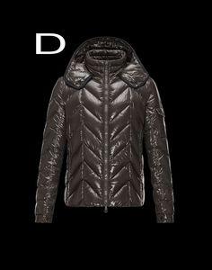 Moncler Berriat Men Bright Detachable Hood Down Jacket Outerwear Brown Outlet