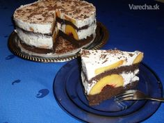 Broskyňovo-jogurtová torta (fotorecept)