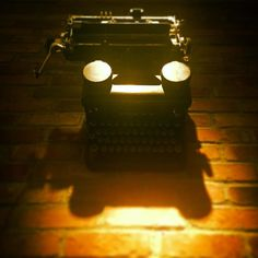Floating #typewriter