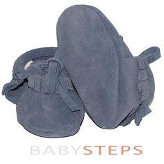 BabySteps Mocassins Lace Blue Ibiza Style