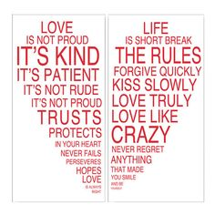 I pinned this 2 Piece Love & Life Wall Art Set I from the Sweets for Your Sweet event at Joss and Main!