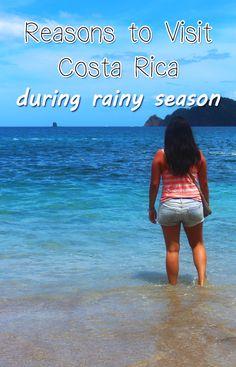 6 reasons why travelers should visit Costa Rica in rainy season http://mytanfeet.com/costa-rica-travel-tips/visit-costa-rica-in-rainy-season/