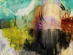 COLORFUL ABSTRACT ART Paintings and Prints by Michel Keck