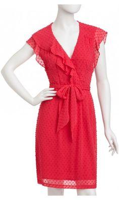 Talavera Dress red