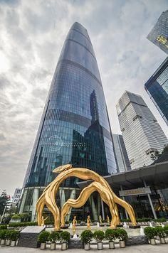 №10 - Guangzhou International Finance Center/Guangzhou GD/China/437.5 m/103 floors/2010