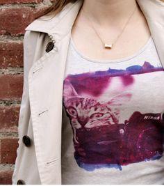 #DIY Photo T-Shirt made with Inkodye from @Lumi | Inkodye available at Joann.com