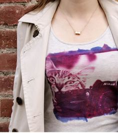 #DIY Photo T-Shirt made with Inkodye from @Lumi | Inkodye available at Joann.com