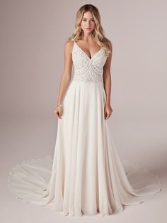 25807 - Peggy - This bodice is amazing! Try this beauty on at Aurora Bridal in Melbourne, FL 321-254-3880