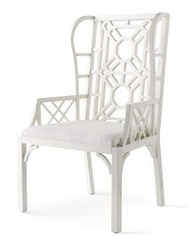Lilly Pulitzer Chippendale Chair