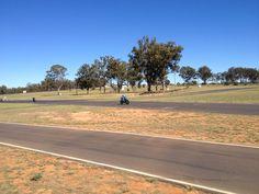 2012 May - DMCSC Clubmen racing at Morgan Park (Warwick)