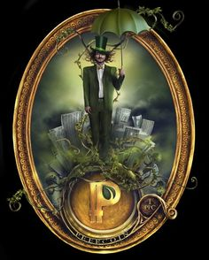 You can store Peercoin on this fine art piece!