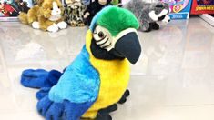 Pick the Cutest Plush Animals Plush Animals, Cute Animals, Youtube Banners, Cute Plush, Plushies, Pet Toys, Parrot, Dinosaur Stuffed Animal, Owl