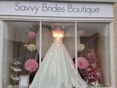 Xmas Window  The Bridal Room Atherstone | www.TheBridalRoomAtherstone.co.uk | info@ TheBridalRoomAtherstone.co.uk | T:01827 767 080 | #brides #wedding