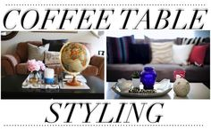 How to DECORATE your COFFEE TABLE - THE LifeStyled COMPANY