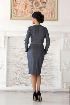 c85f3e231b5 Купить или заказать Платье «Кокетка» в интернет-магазине на Ярмарке  Мастеров. Платье