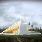 Amazing Pyramid House Worthy of a Pharaoh Brings the Unique Shape Back to Residential Architecture | Moorish Harem