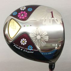 New womens Golf Clubs MARUMAN FL Golf driver 11.5 loft with Graphite Golf shafts and wood headcove Free Shipping | #GolfClubs #GolfDriver