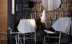 TERRA ARMCHAIRS AND LOW TABLE FOR ATIPICO
