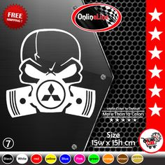 "rock music 6.5/"" ROCKABILLY CHICK vinyl decal car truck window laptop sticker"