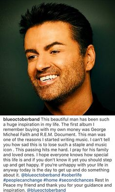 Justin's comments on the passing of George Michael