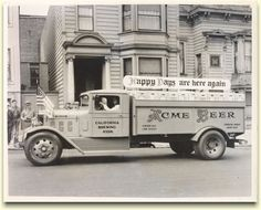 Acme delivery truck after Repeal in 1933
