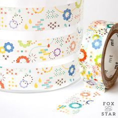 MT ex Colourful Pop Washi Tape from Fox and Star