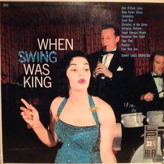 Glittered When Swing Was King Vinyl Record Album on Etsy, $85.00