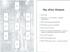 The Wise Woman Tarot Card Spread | Oracle Cards | Divination Layout