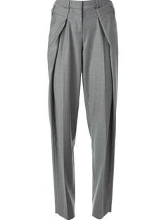 Maison Martin Margiela Pleated Wide Leg Trousers -