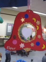 Afbeeldingsresultaat voor kerstklok knutselen