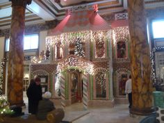 Going to play hooky with my son for a day before Christmas in The City.  A stop at The Fairmont to see the gingerbread house is a must.