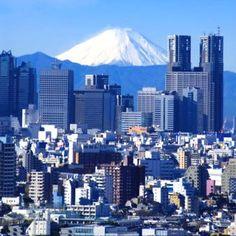 Tokyo y monte Fuji
