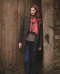 Tulchan Longline Quilted Jacket