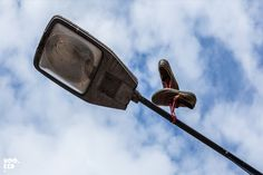 Gravity-defying Shoe Installation on the Streets of London by Pejac