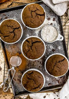 Easy and foolproof, this irresistible Vegan Chocolate Molten Lava Soufflé is brimming with rich, decadent, melty chocolatey goodness. Healthy Dessert Recipes, Baking Recipes, Whole Food Recipes, Vegan Recipes, Chocolate Flavors, Vegan Chocolate, Chocolate Desserts, Vegan Party Food, Sweet Treats