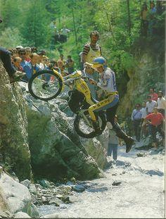 Motos Trial, Trial Bike, Bmw, Vintage Motorcycles, Irons, Hare, Motocross, Trials, Honda